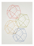 Geometric Pop Art Poster