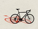 Road Bike Pop Art Art