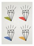 Diamond Pop Art Print