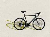 Road Bike Pop Art Posters