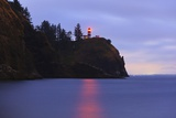 Sunrise Cape Disapointment Lighthouse, Washington State, Pacific Northwest Photographic Print by Craig Tuttle