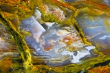 Rainbow Ridge Picture Agate Photographic Print by Darrell Gulin