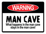 Man Cave Sign Art Print Poster Print