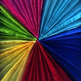 Colorful Fans Photographic Print by Magda Indigo