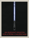 An Elegant Weapon Retro Photo