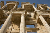 Turkey, Kusadasi, Ephesus, Celsus Library with it's Corinthian Columns Photographic Print by Cindy Miller Hopkins