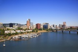 Portland Riverplace Marina, Portland, Oregon Photographic Print by Craig Tuttle