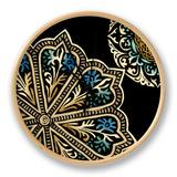 Midnight Rosette III Uhr von Chariklia Zarris