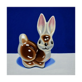 Brown Bunny Giclee Print by Cassie Marie Edwards