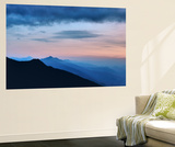 Mountain Range in France Wall Mural by Philippe Manguin