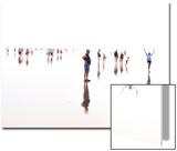 Beach Romp 1 Posters van Philippe Manguin