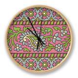 Ceylon Squares I Clock by  Vision Studio