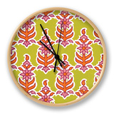 Ceylon Squares VIII Clock by  Vision Studio