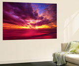 Colorful Sunset Wall Mural by Philippe Sainte-Laudy