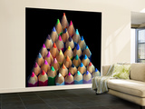 Colored Pencils Wall Mural – Large by Magda Indigo