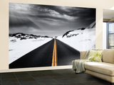 Around the yellow line Wall Mural – Large by Philippe Sainte-Laudy