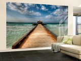 Road to Leisure Wall Mural – Large by Nejdet Duzen