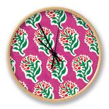 Ceylon Squares VII Clock by  Vision Studio