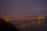 Golden Gate Bridge at Night Photographic Print by Darrell Gulin