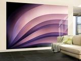 A Fan of Purple Wall Mural – Large by Ursula Abresch