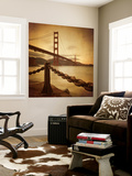 Vintage Golden Gate Wall Mural by Philippe Sainte-Laudy