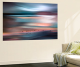 Migrations - Blue Sky Wall Mural by Ursula Abresch