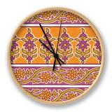 Ceylon Squares II Clock by  Vision Studio