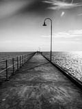 Dromana Jetty Metal Print by Margaret Morgan