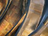 Jour bleu Reproduction sur métal par Ursula Abresch
