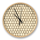 Ethnic Motif III Clock by  Vision Studio