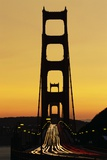 Evening Traffic and Golden Gate Bridge Photographic Print by Darrell Gulin