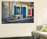 Arles Bicycle Wall Mural by Marco Carmassi