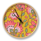 Ceylon Squares VI Clock by  Vision Studio