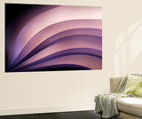 A Fan of Purple Vægplakat i topklasse af Ursula Abresch