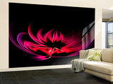 Water Lily Wall Mural – Large by Margaret Morgan