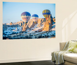 Ballooning in Cappadocia, Turkey Wall Mural by Nejdet Duzen