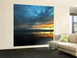 Vendée Sunset Wall Mural – Large by Philippe Manguin