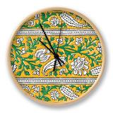 Ceylon Squares III Clock by  Vision Studio
