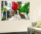 Street of Bodrum Wall Mural by Nejdet Duzen