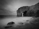 Port Blanc Arch Metal Print by Philippe Manguin