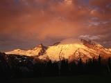 Sunrise on Mount Rainier Photographic Print by James Randklev