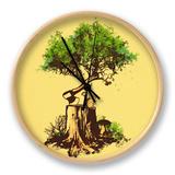 Re Forestation Clock by Budi Kwan