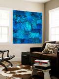 Tapestry in Blue Wall Mural by Doug Chinnery