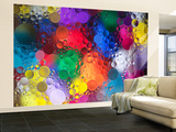 Color Explosion 2 Wall Mural – Large by Margaret Morgan