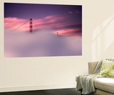 San Francisco Fog Wall Mural by Philippe Sainte-Laudy