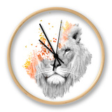 If I Roar Clock by Budi Kwan