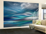 Sailing Wall Mural – Large by Ursula Abresch