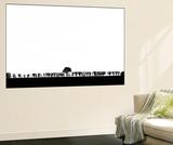 Hedgerow! Poster géant par Adrian Campfield