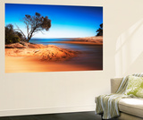 Honeymoon Bay 4 Wall Mural by Margaret Morgan