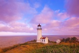 Sunrise North Head Lighthouse, Washington State, Pacific Ocean, Pacific Northwest Photographic Print by Craig Tuttle